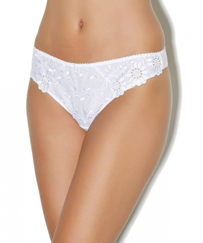 Aubade Mini String Tanga Amazonian Dream in weiss AF26