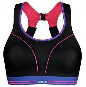 084016e5766 Shock Absorber Run Sport BH Infinity-8 in neuem schwarz mit pink Gr.70A